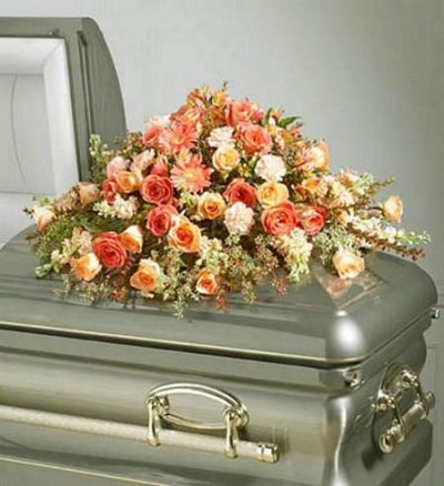 Delightful Memories Casket Spray