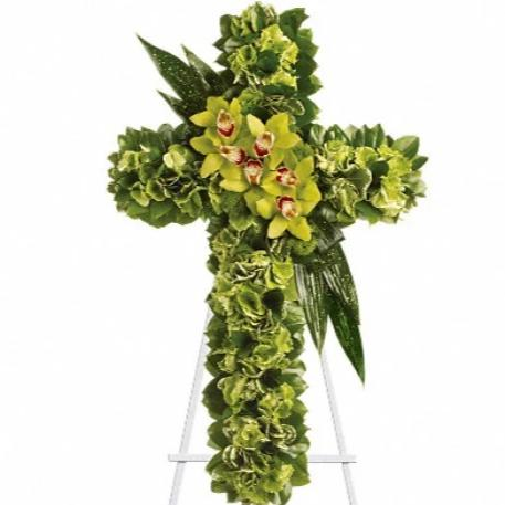 Orchid Standing Cross