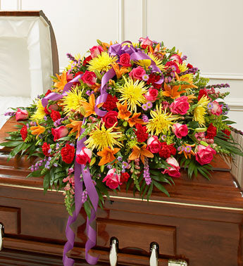 Glorious Remembrance Casket Spray