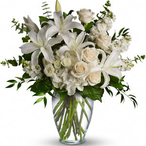 Heartfelt Sympathy Vase Arrangement