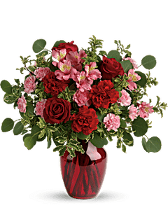 Roses and Alstroemeria Bouquet