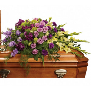 Royal Remembrance Casket Spray