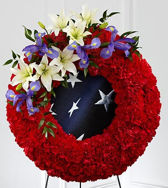 Glorious Patriotic Wreath
