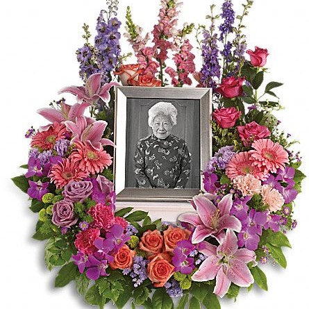 In Memoriam Photo Wreath