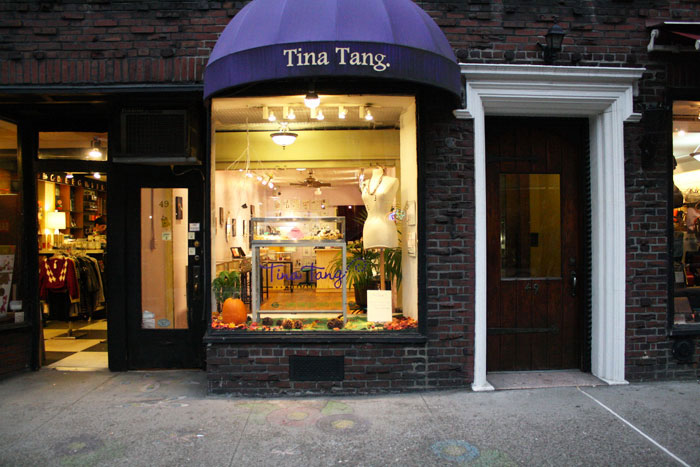 Tina Tang Studio flagship store in West Village NYC