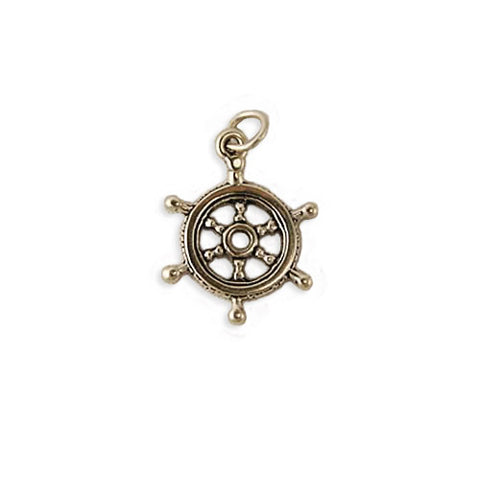 Captain's Wheel Charm