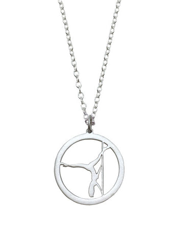 Extended Butterfly Pole Dancer Necklace