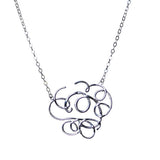 Round Squiggles Necklace