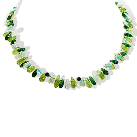Sea Treasure Peridot Necklace