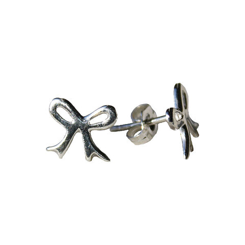 Girly Bow Stud Earrings