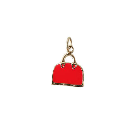 Enamel Purse Charm
