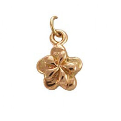 14kt Rose Gold Sakura Flower Charm