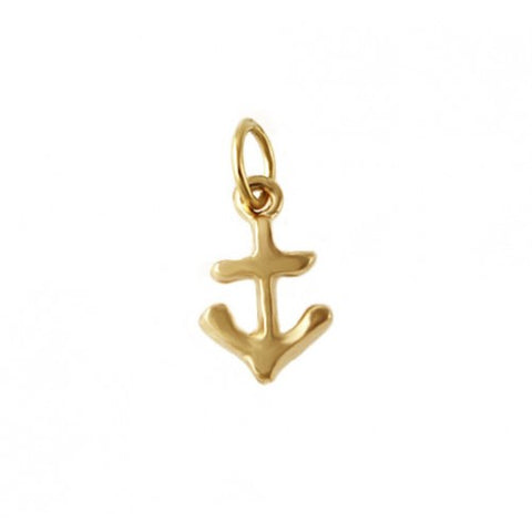 14kt Gold Anchor Charm