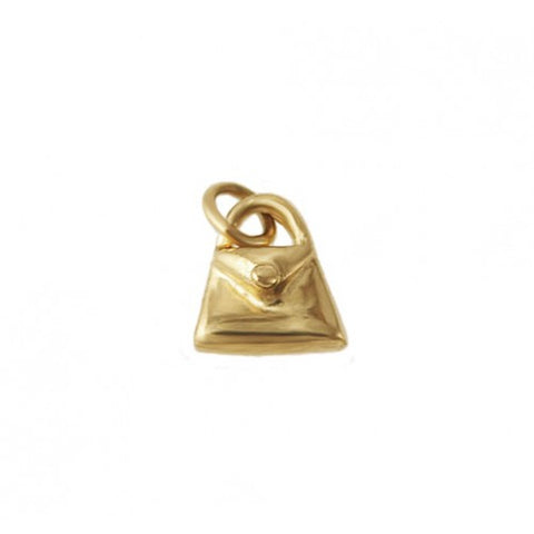 14kt Gold Purse Charm
