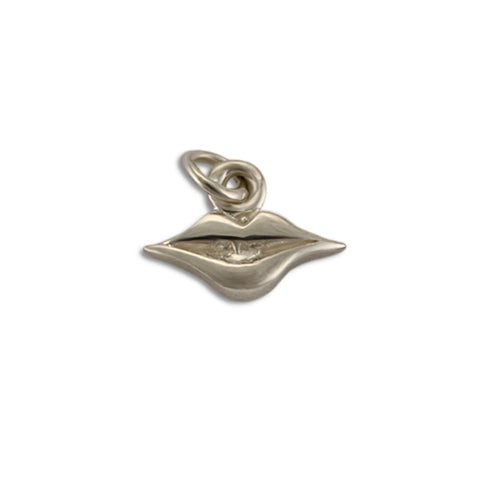 SIlver Lips Charm