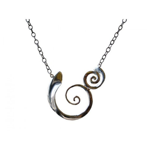 Double Nautilus necklace