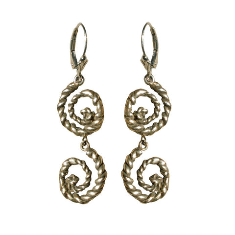 Double Nautilus Earrings