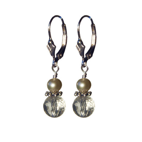 Crystal Pearl Cutie Earrings