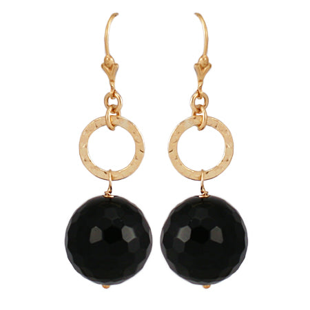 Black Onyx Earrrings