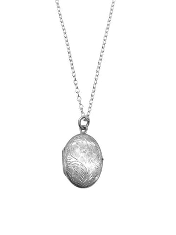 Engraved Design Locket