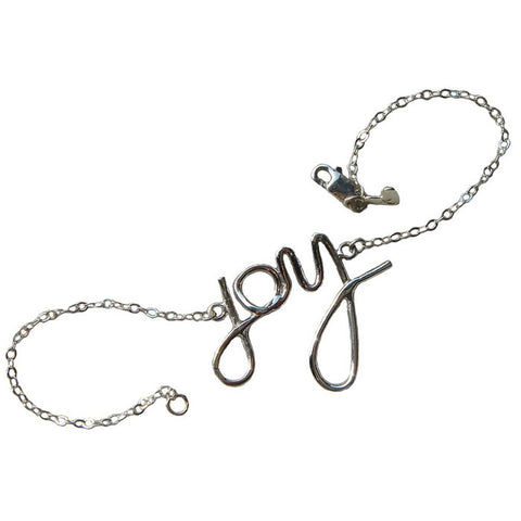 Sterling Silver Big Joy Bracelet