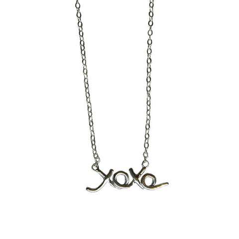 Little XOXO Necklace