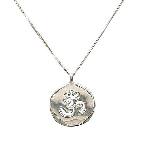 Om DIsc Necklace