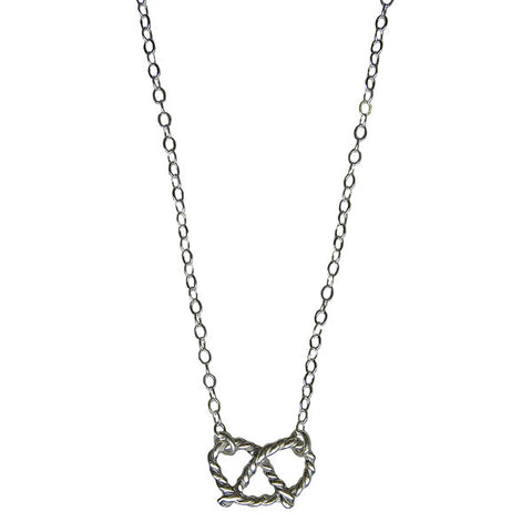 NYC Pretzel Necklace