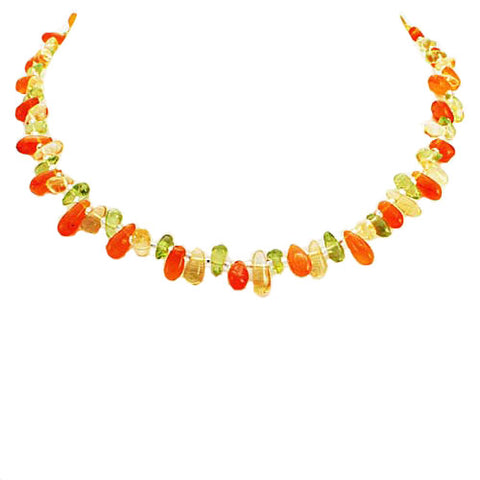Island Carnelian Necklace