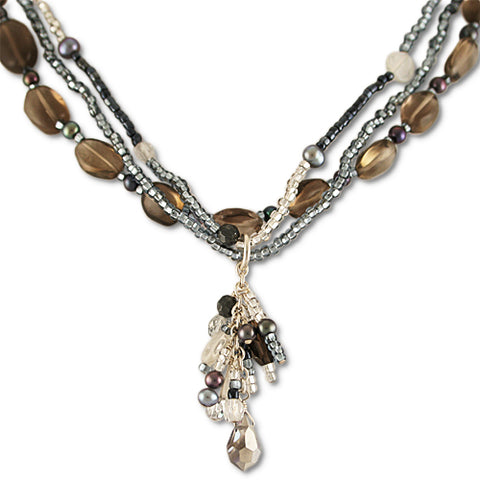 Blessings Grey Topaz Necklace