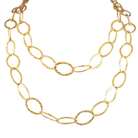 Gold Fill Bebe Necklace