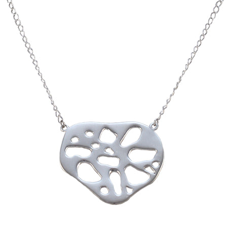Lotus Heart Necklace