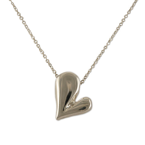 Tilt your heart necklace