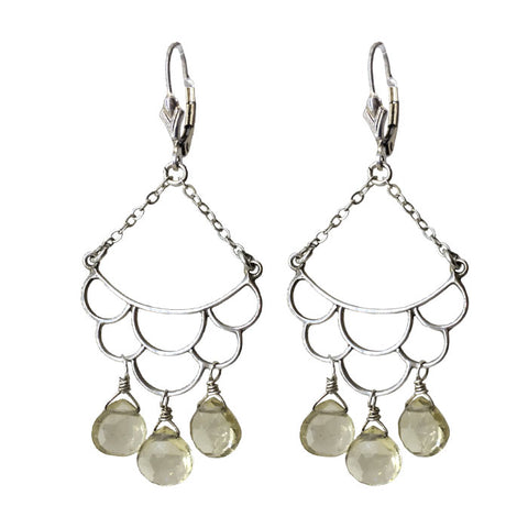 Scallop Chandelier Earrings