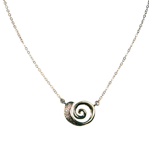 Bubbles Nautilus Necklace