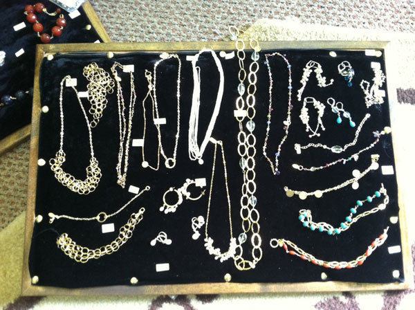 Handmade Jewelry by NYC Jewelry Designer Tina Tang : Trunk Show Prep