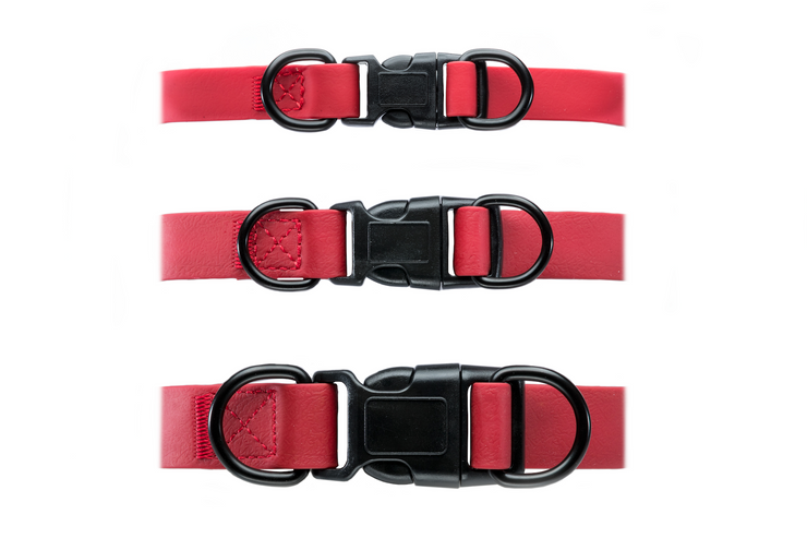 RED WATERPROOF COLLAR