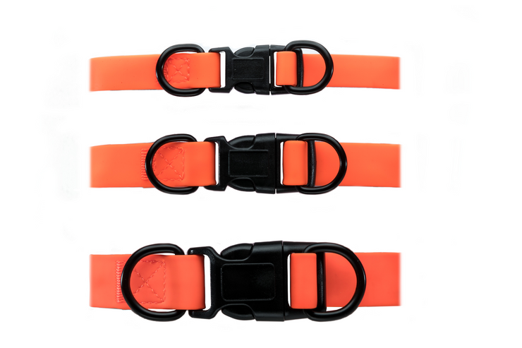 BLAZE ORANGE WATERPROOF COLLAR