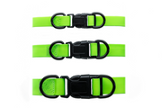 BRIGHT GREEN WATERPROOF COLLAR
