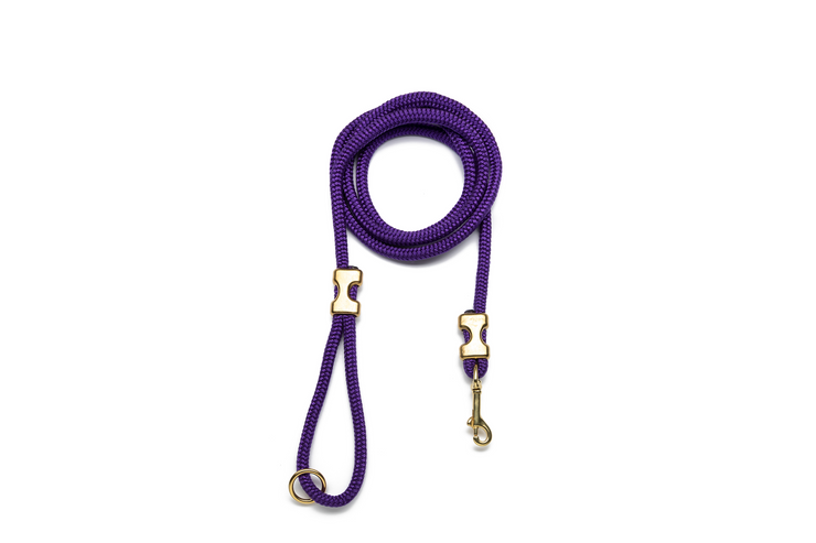 PURPLE ROPE LEASH