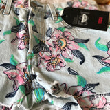 Levi's Floral Embroidered Shorts