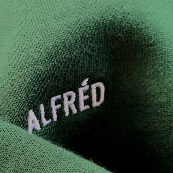 FRENCH TERRY SWEATPANTS - GREEN