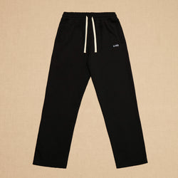 FRENCH TERRY SWEATPANTS - BLACK