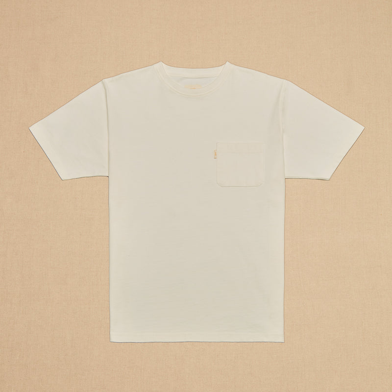 POCKET TEE MAX WEIGHT - OFF WHITE