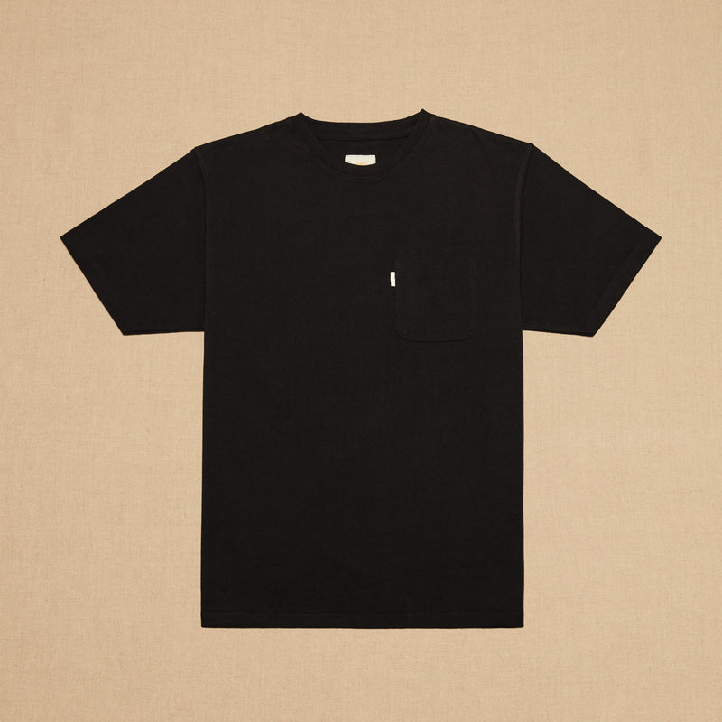 POCKET TEE MAX WEIGHT - BLACK