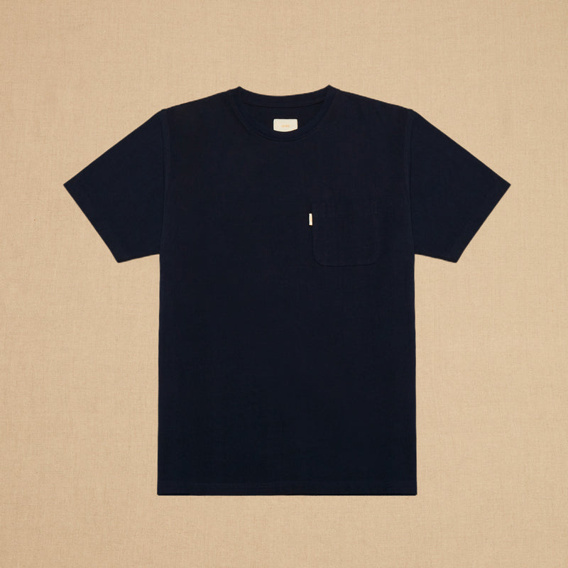 POCKET TEE MAX WEIGHT - NAVY