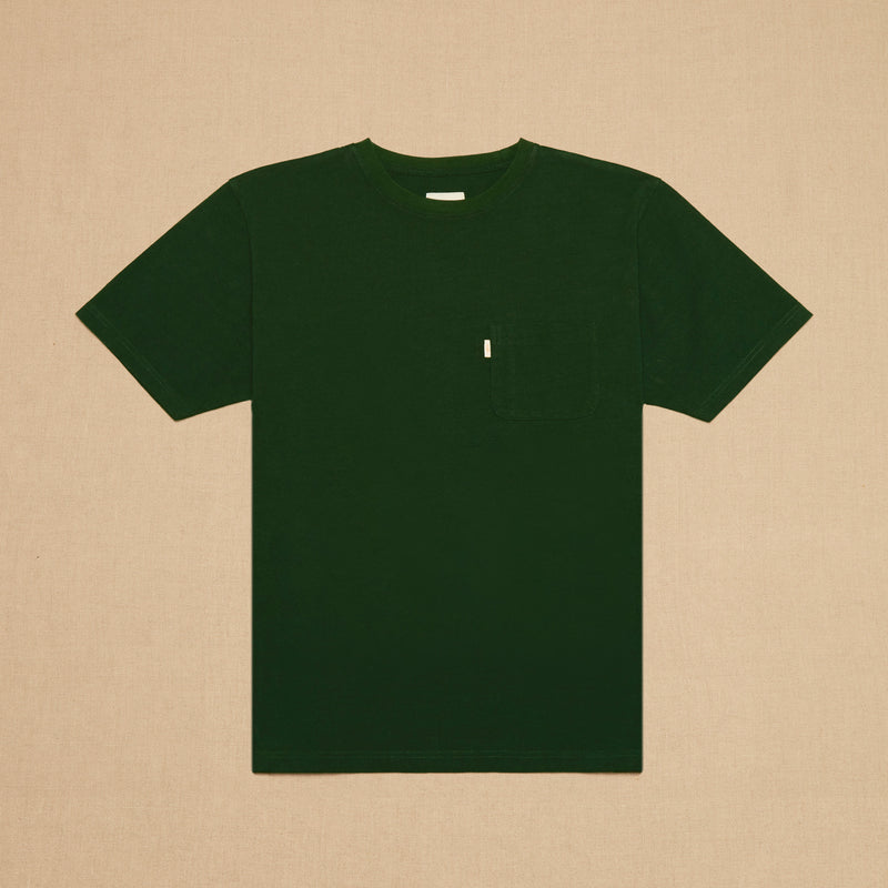 POCKET TEE MAX WEIGHT - GREEN