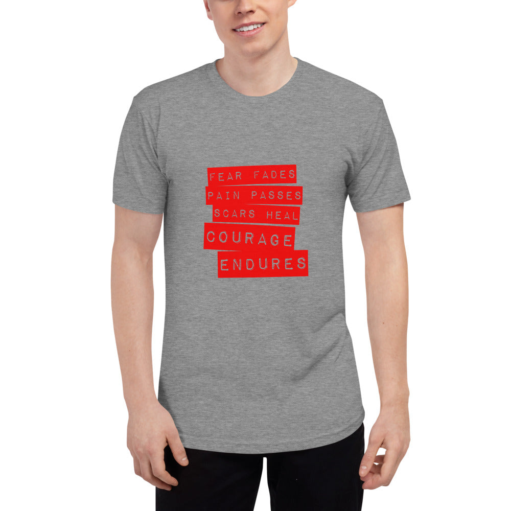CE QUOTE Unisex Tri-Blend Track Shirt