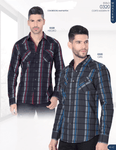 Montero Plaid Shirt- Black or Charcoal