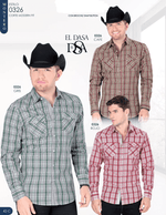 Montero Plaid Shirt-  Red, Grey or Brown